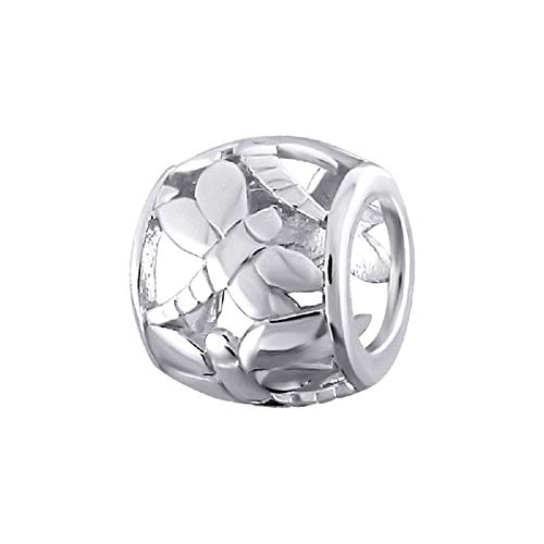 Charm-Anhänger Libelle Sterling-Silber 925 in Geschenkbeutel