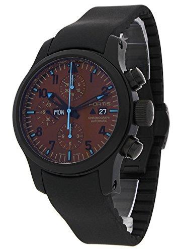 Fortis Hombre Reloj de pulsera b de 42Blue Horizon Fecha Día de la semana Cronógrafo analógico automático Limited Edition 656.18.95K