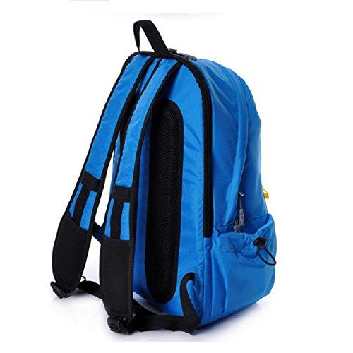 LF&F 25L Kleine KapazitäT College-Student Tasche Wasserdichte Nylon Freizeit Reise Rucksack Mode Outdoor Sport Fitness GepäCk Tasche Laptop Tasche C