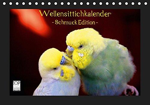 Wellensittichkalender - Schmuck Edition (Tischkalender 2019 DIN A5 quer): Mit dem brandneuen Wellensittichkalender des Naturfotografen Björn Bergmann ... (Monatskalender, 14 Seiten ) (CALVENDO Tiere)