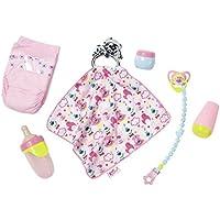 Zapf Baby Born Starter Set Conjunto de Accesorios para muñecas - Accesorios para muñecas (Conjunto de Accesorios para muñecas, 3 año(s), Multicolor, 43 cm, Chica, 43 cm)