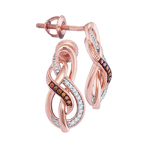 1/12Total Karat Gewicht Diamant mirco-pave Ohrringe (Pave Diamant-ohrringe)