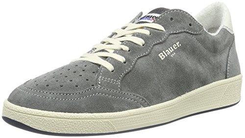 Blauer USA Retro, Baskets Basses Homme Gris - Gris