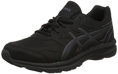 Asics Herren Gel-Mission 3 Walkingschuhe, Schwarz (Blackcarbonphantom 9097), 45 EU