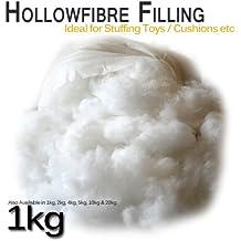 Relleno de fibra para cojines, peluches, 1kg