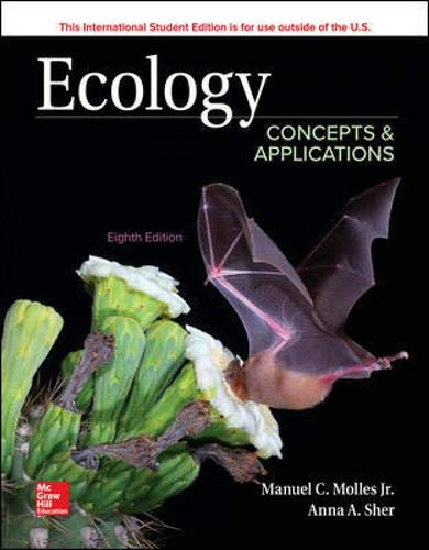 Ecology: Concepts and Applications por Manuel Molles