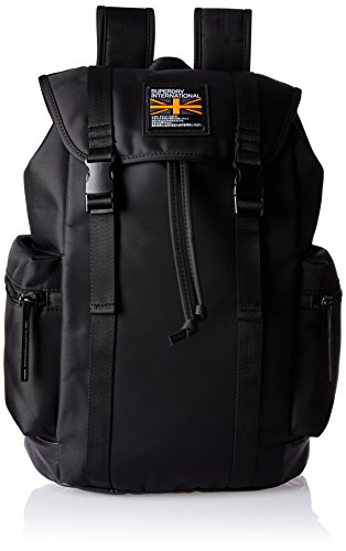 Superdry City Breaker Zaino Casual, 40 cm, Black (02A)