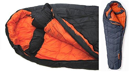 Altus Outdoor Expedition Himalaya - Sacco a pelo con forma a mummia, per temperature estreme fino a -30°C, adatto per l'inverno, l'autunno e la primavera