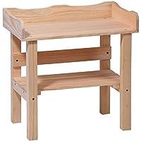 Preisvergleich für Pflanztisch für Kinder 48x28x48 cm Holz als Spieltisch im Garten