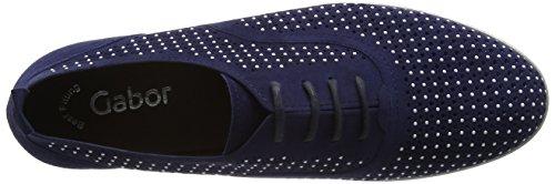 Scarpe 18 Azzurro Derby Di Gabor Moda Donna blu 04r0qpxw