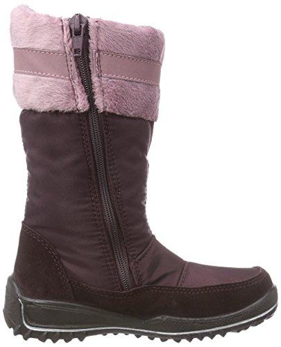 Ricosta Ranki, Bottes de neige de hauteur moyenne, doublure chaude fille Rose - Pink (bromber 389)