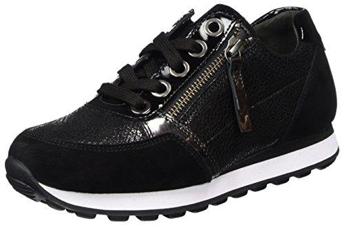 Gabor Shoes Damen Comfort Basic Derbys, Schwarz (Schwarz), 40.5 EU