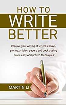 Write better stories and essays