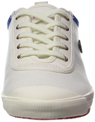 Faguo Oak, Baskets Basses Mixte Adulte Blanc (Off White)