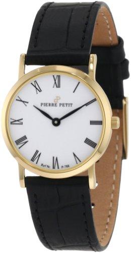Pierre Petit - P-788D - Montre Femme - Quartz Analogique - Bracelet Cuir Noir