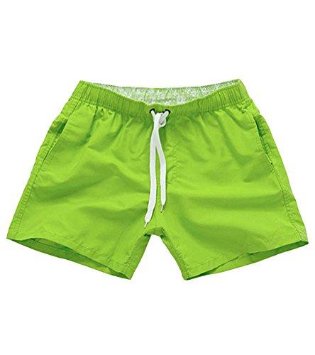 homme-short-pantalon-sportif-pantalon-court-shorts-de-plage-sechage-rapide-couleur-unie-vert-fonce-m