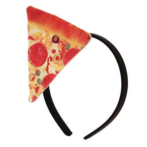 MagiDeal Damen Herren Pizza Haarreif Lustig Stirnband Haarschmuck Haarband Kopfbedeckung für Karneval Fasching - Herr März Kostüm