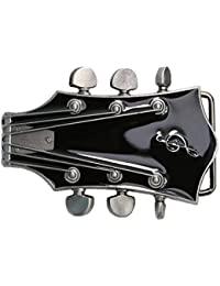 Landisun main Western musique Cephalic noir pour guitare avec boucle de ceinture