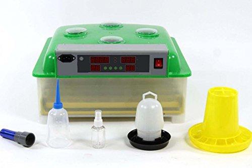Inkubator VOLLAUTOMATISCH BK48 Modell 2018 + Zubehör, neue Generation, 48 Eier, Brutautomat, Brutmaschine