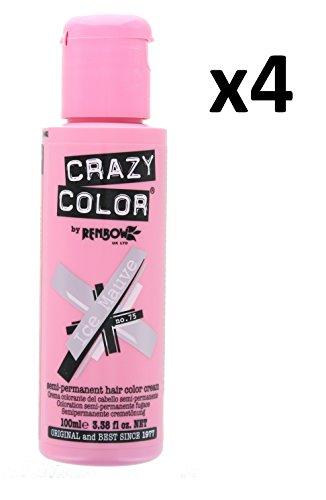 ow Semi-Permanent Hair Colour Cream Dye 100ml Box of Four-Ice Mauve ()