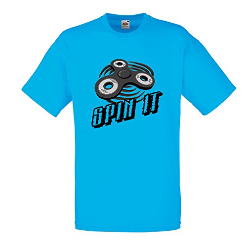 Männer T-Shirt Spin It - für wer liebt es, das
