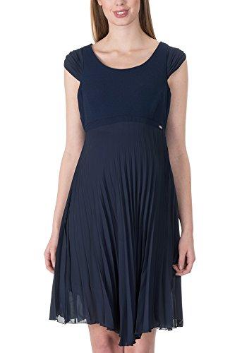 bellybutton Femmes Robe de grossesse robe sans manches Robe du soir bleu (bleu marine)