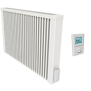 SUCCSALE - Aeroflow Thermotec Flächenspeicherheizung mit Funk-Thermostat, 1500W mit Speicherkern aus Schamottestein