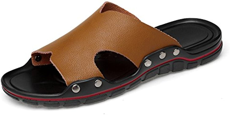 Slipper de tacón Plano para Hombre en Zapatilla de Moda