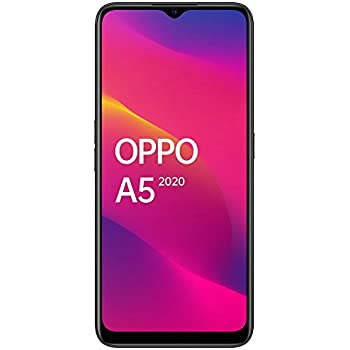 OPPO A5 2020 (Mirror Black, 4GB RAM, 64GB Storage) with No Cost EMI/Additional Exchange Offers
