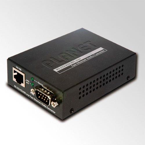 Planet Medienkonverter RS232 / RS422 / RS485 (DB9 Male) zu 10/100Base-TX Seriell zu Ethernet Rs 422-hub