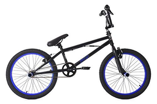 KS Cycling BMX Freestyle 20\'\' Yakuza Fahrrad, schwarz-Blau