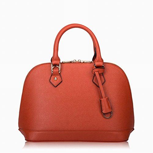 kissenfrauen gesponnene handtaschenart und Weiseschulter Kurierbeutel Orange