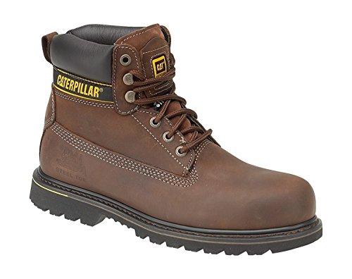 Cat Footwear Holton St Sb, Bottes pour Homme - marron - Marrone (Brown), 47 EU EU
