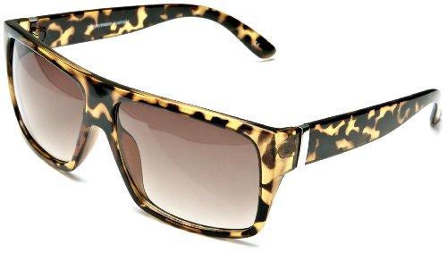 Quay Australia Damen 1508 Sonnenbrille, Braun (Torteshell), Herstellergröße: One Size