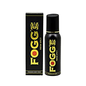 Fogg Fresh Deodorant Spicy Black Series For Men, 120ml