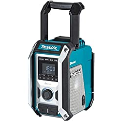 Makita DMR114 Radio de Chantier Bluetooth 12 à 18 V Li-ION (Produit Seul), Bleu