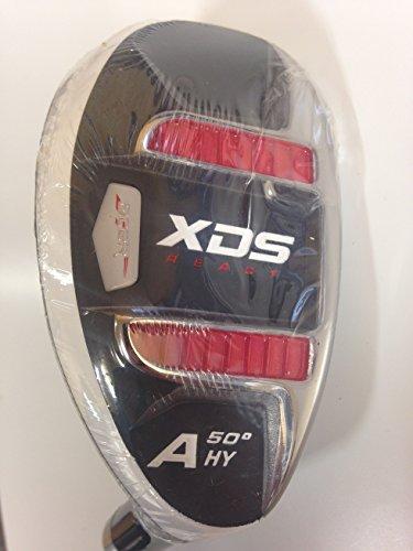 Acer XDS ibrido mano destra grafite rosso signore flex, headcover incluso numero GW (standard grip) - Signore Golf Headcover