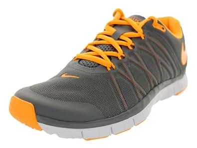 Nike Men's Free Trainer 3.0 Training Shoe Cool Grey-Atomic Mango-White 8.5 D(M) US