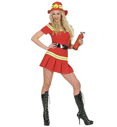 Widmann - Costume da Vigile del Fuoco Sexy, Taglia M