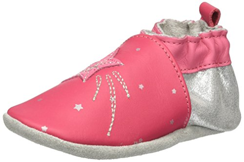 Robeez - Magic Star, Pantofole Bimba 0-24 Rosa (Fuchsia)