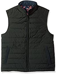 Ted Baker Men's Jozeph Modern Slim Fit Quilted Gilet with Rib Trim