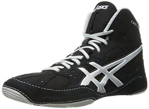 Asics J401Y Cael v6.0–Scarpe da uomo Black/Silver