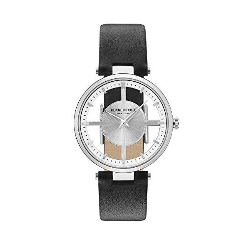 Kenneth Cole New York Orologio da donna orologio da polso in pelle kc15004001