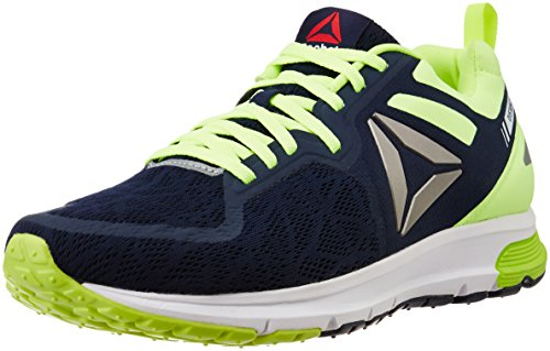 Reebok Men's One Distance 2.0 Navy, Yellow, Pewter and White Running Shoes - 7 UK/India (40.5 EU)(9.5 US)
