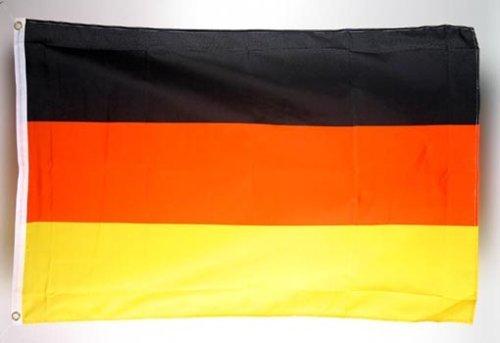 Unbekannt josep.h Deutsche Fahne mit 2 Messing-Ösen - 150 x 90 cm