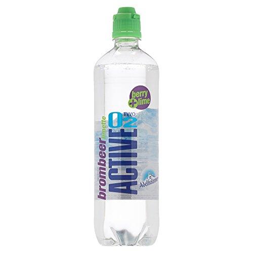 Active O2 Brombeer Limette Einweg, (8 x 750 ml)