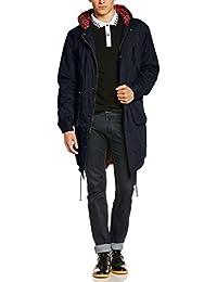 Merc of London Tobias Parka - Abrigo con manga larga para hombre
