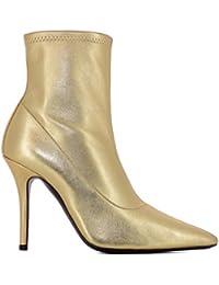 Giuseppe Zanotti Design Mujer I870030002 Oro Cuero Botines