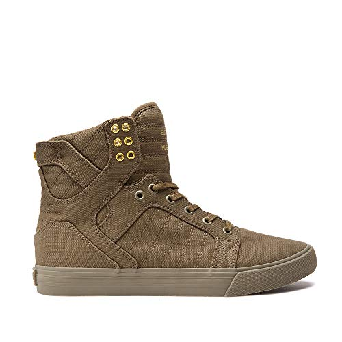 Supra Herren Sneakers Skytop Olive 42 (Supra Sneakers Skytop)