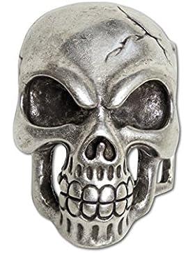 etNox Gürtelschnalle''Skull'' (U